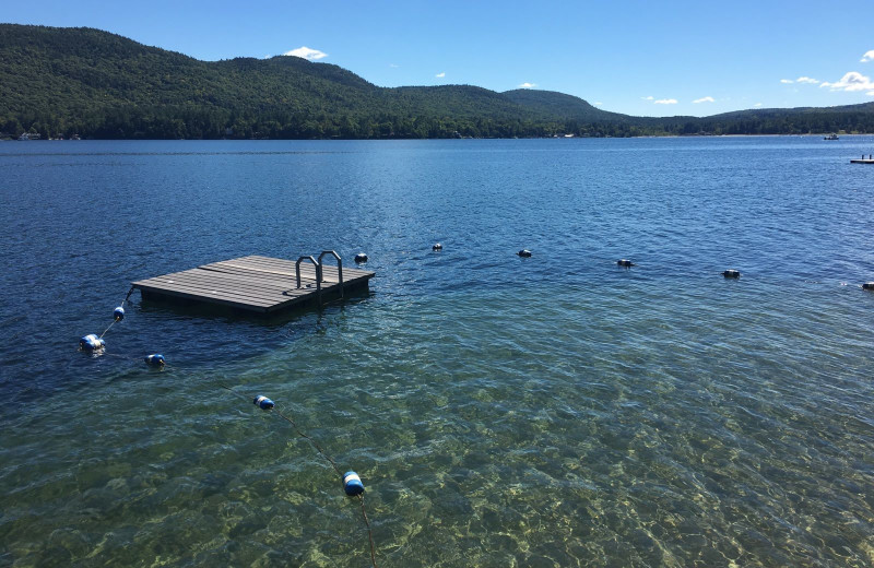 Lake view at The Quarters at Lake George.
