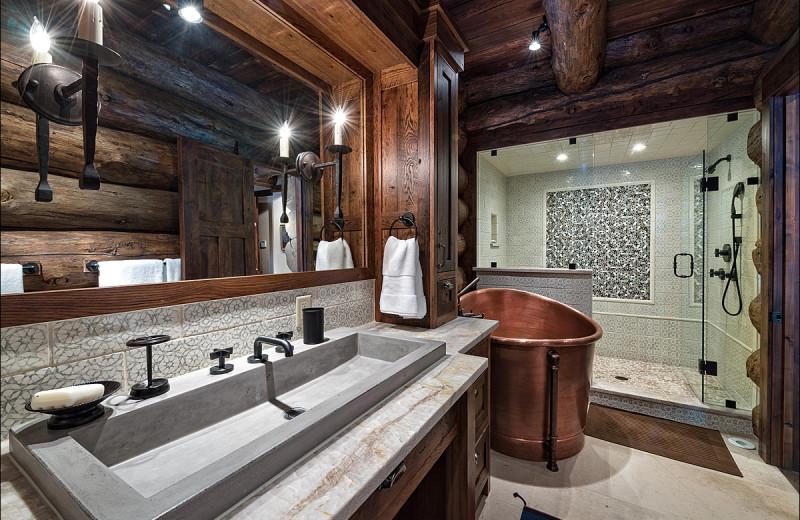 Rental bathroom at Vail Rentals by Owner.