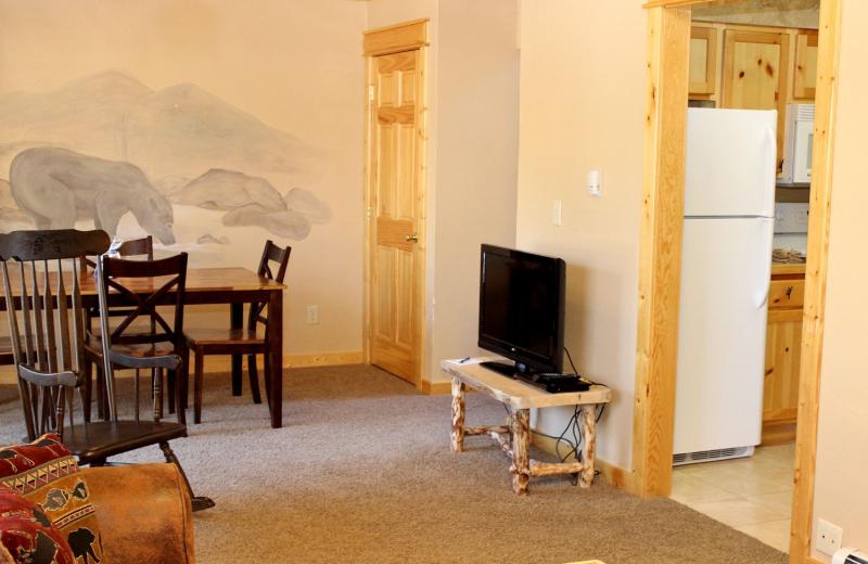 Condo interior at Bear Creek Vacation Condos.