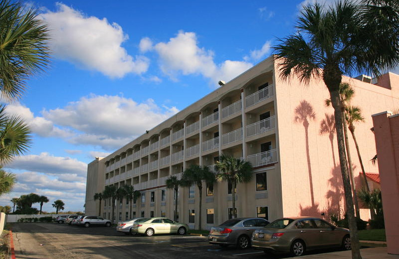 Exterior view of Holiday Isle Oceanfront Resort.