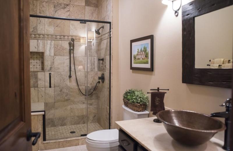 Rental bathroom at Sand County Service Company.