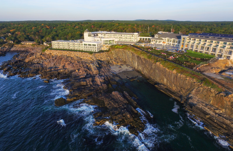 Exterior view of Cliff House Maine.