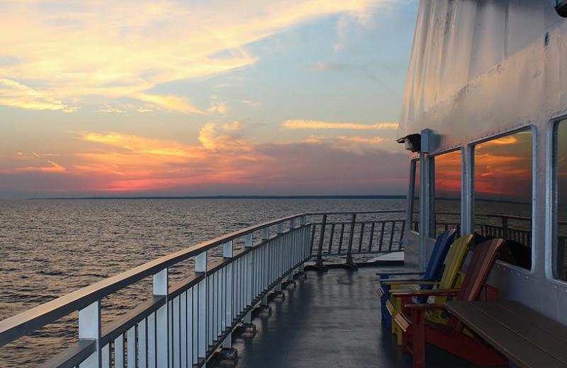 Ferry to Black Rock Resort.
