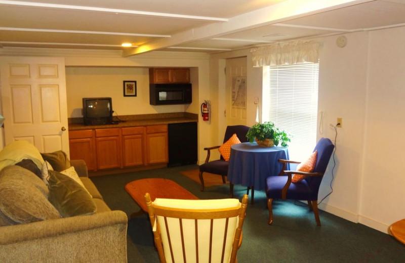 Guest room at Lake Michigan Reunion & Retreat.