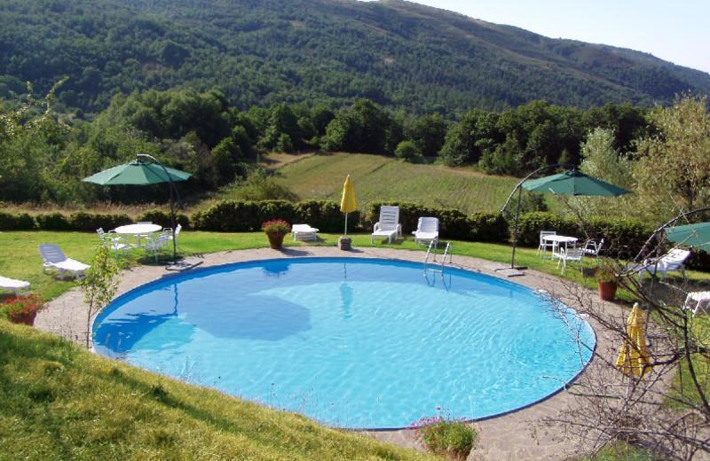 Outdoor pool at Azienda Agrituristica Praticino.