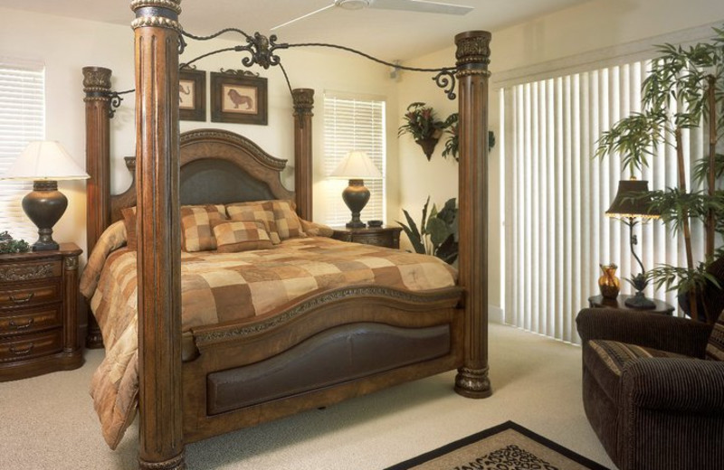 Guest bedroom at KeysCaribbean.