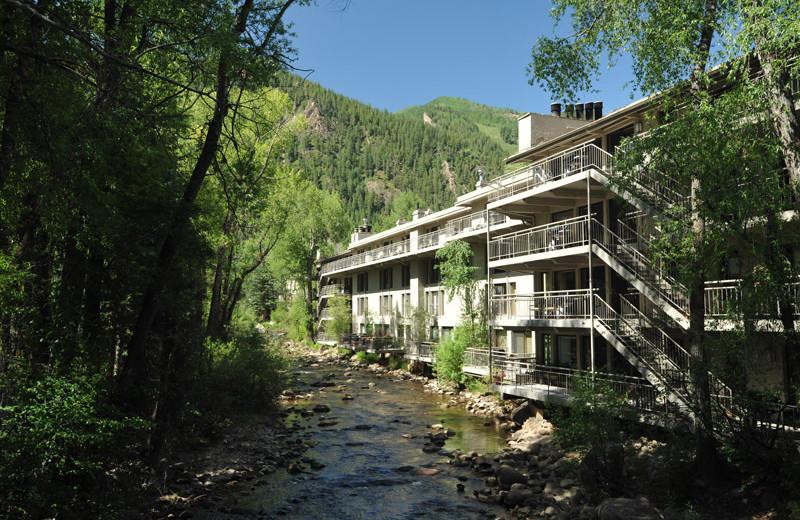 Rental exterior at Frias Properties of Aspen - Chateau Roaring Fork #14.