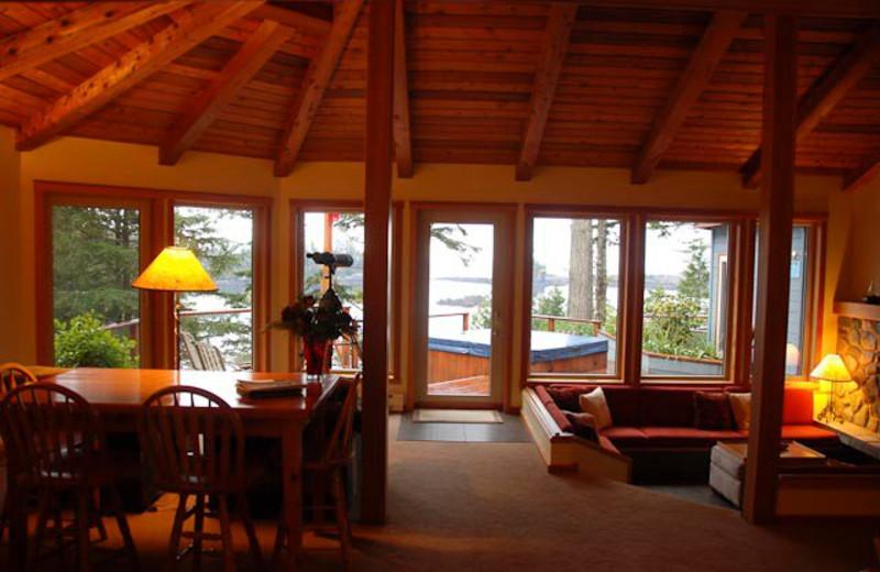 Interior view at A Snug Harbour Inn.