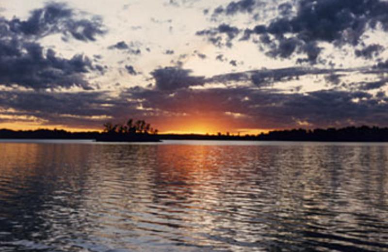 Sunset on the Lake at Sunset Bay Resort