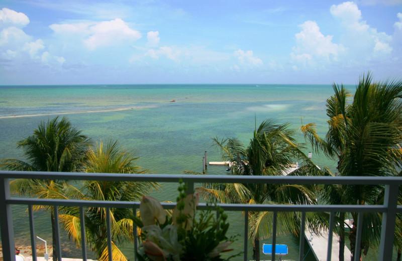 View from balcony at Hampton Inn & Suites Islamorada.