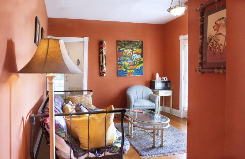 Interior at Coco Plum Inn.