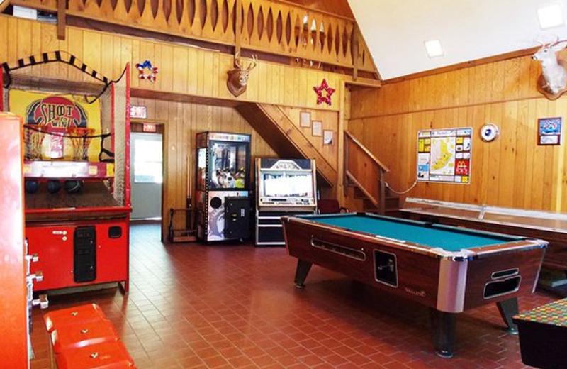 Arcade at Jim Thorpe Camping Resort