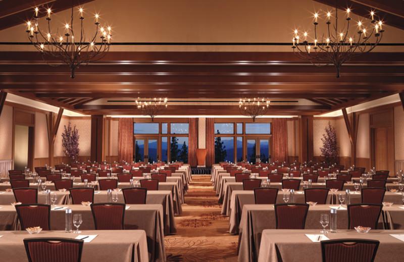 Ritz Carlton ballroom at Ritz-Carlton Lake Tahoe.