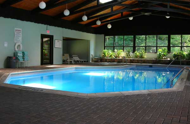 Indoor Pool at Dunham's Bay Resort