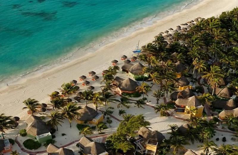 The beach at Shangri-La Caribe.