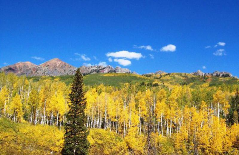 Mountain view at Grand Lodge on Peak 7.
