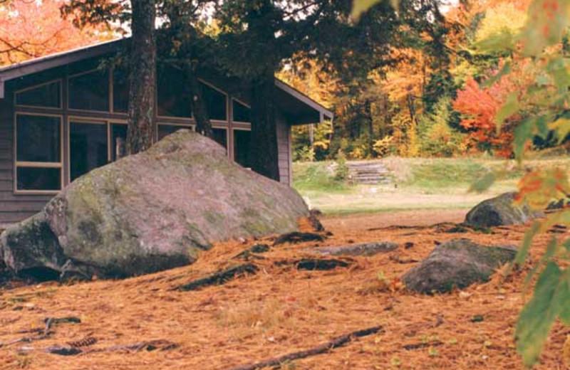 Cabin Exterior at Walker Lake Resort