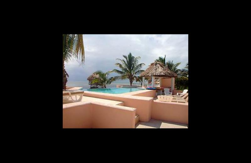 Rental pool at M&M Rentals.