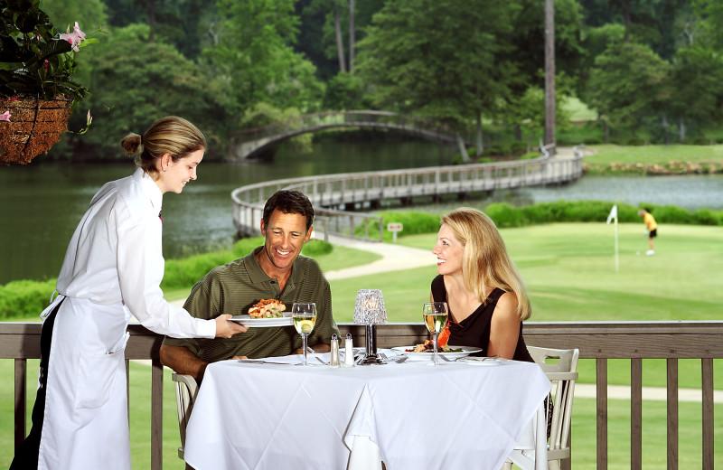 Dining at Callaway Gardens.