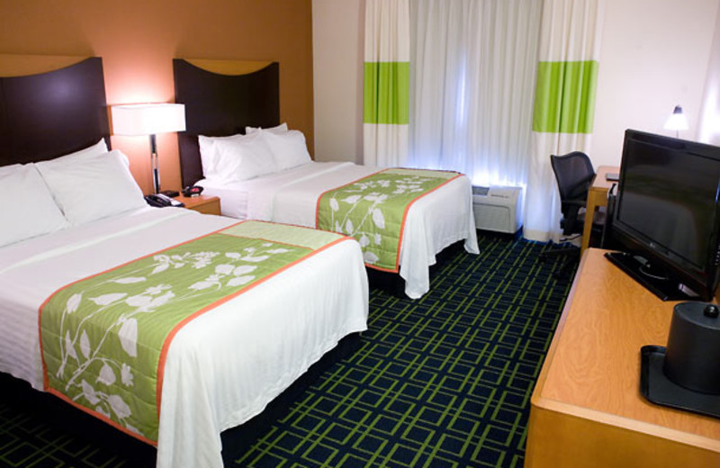 Guest Room at the Fairfield Inn & Suites Wilkes-Barre Scranton