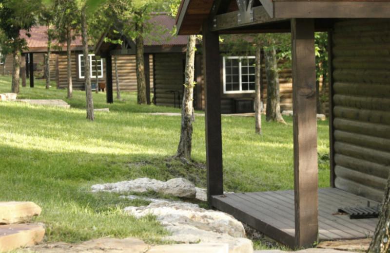 Cabins at Morrell Ranch.