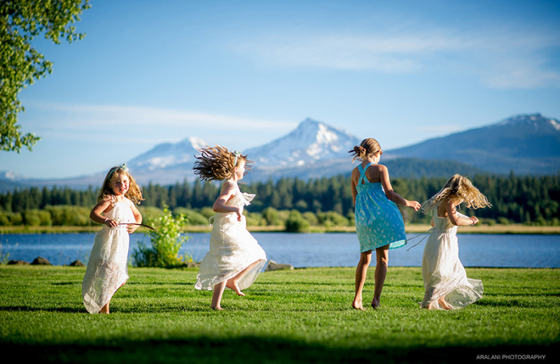 Wedding at Black Butte Ranch.