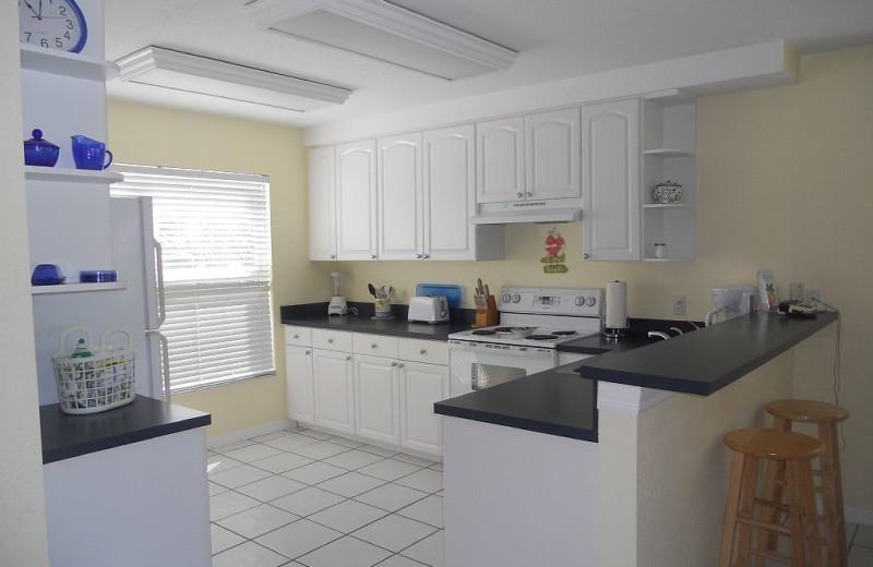 Rental kitchen at Alecassandra Vacation Villas