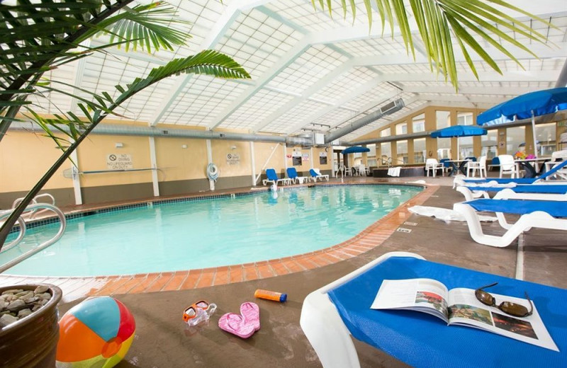 Indoor pool at Red Lion Hotel Tacoma.