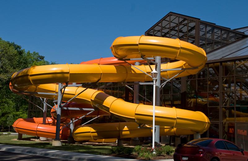 Water slide at Villages Resort.