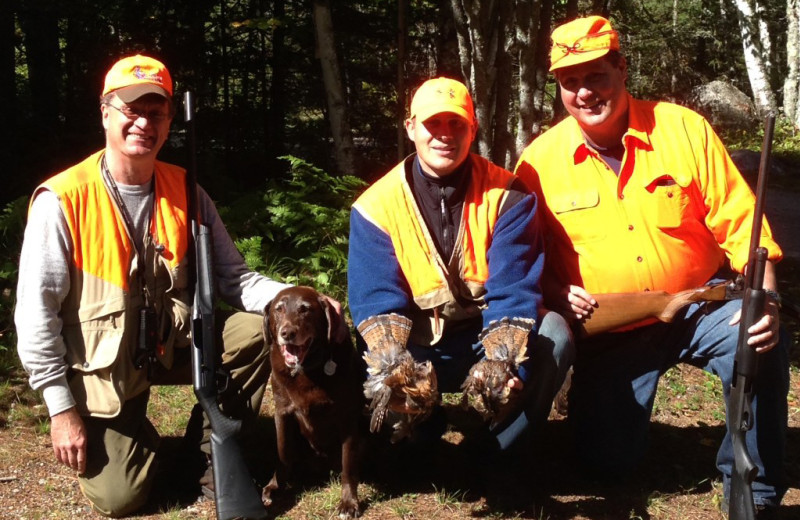 Hunting at Glenmore Resort.
