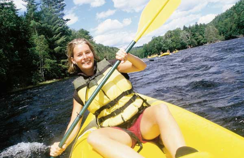 Kayaking at Wyndham Vacation Resorts Shawnee Village.