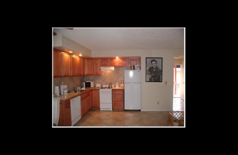 Deluxe Studio kitchen at Club Trinidad.
