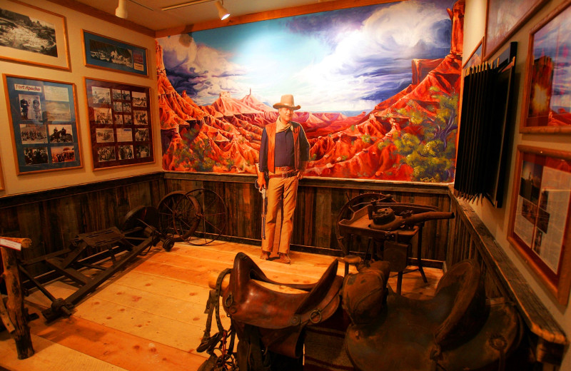 Museum at Red Cliffs Lodge.