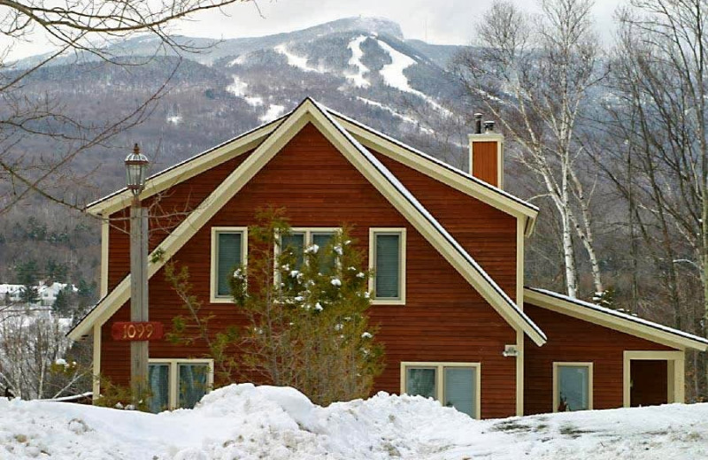 Vacation rental exterior at Stowe Country Homes.