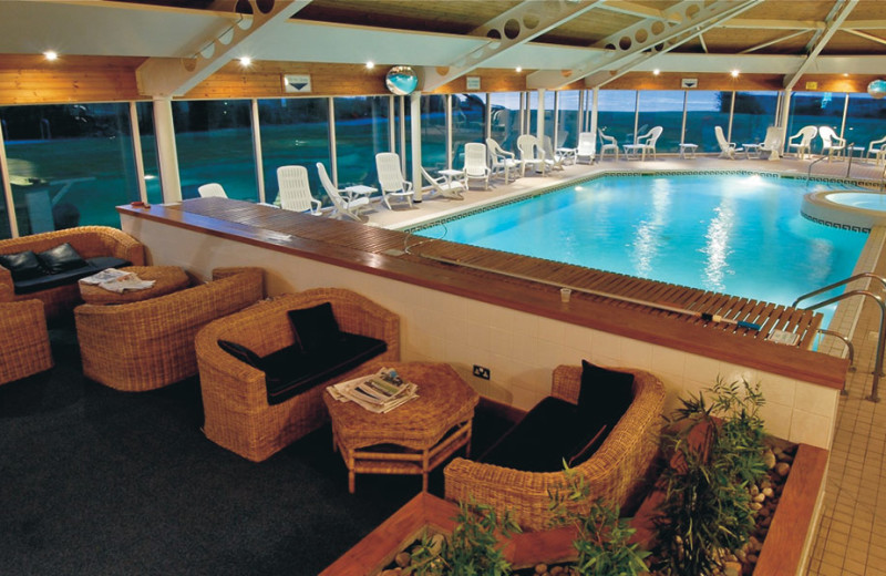Indoor pool at Golf View Hotel.