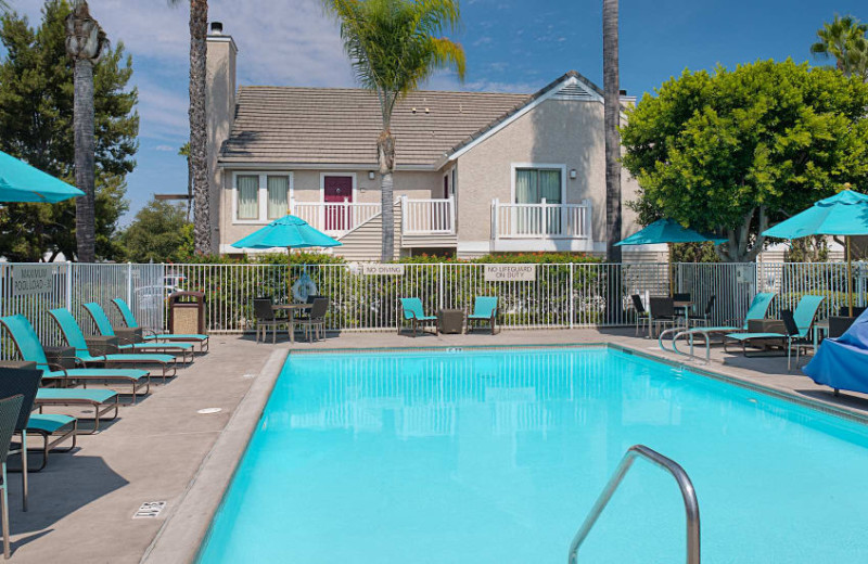 Outdoor pool at Residence Inn San Diego Central.