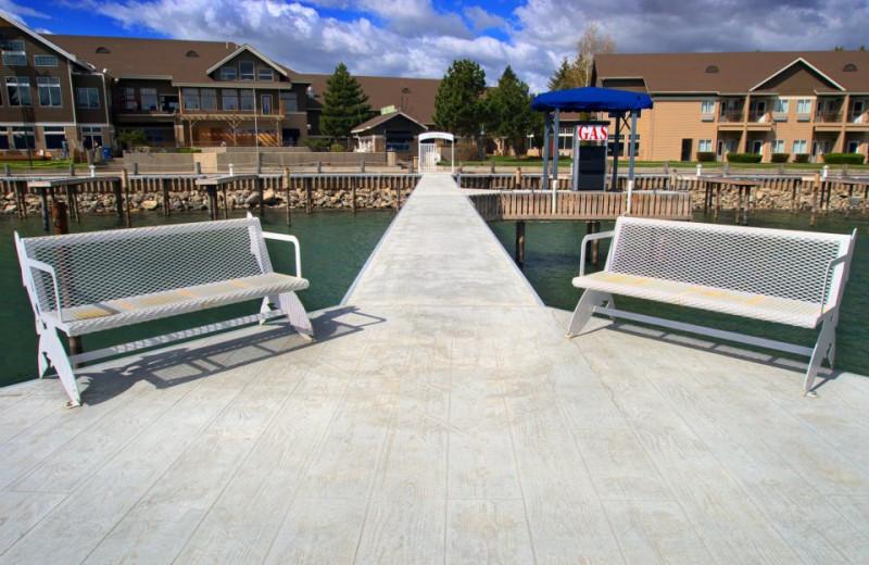 Dock Lounging at the Best Western PLUS KwaTaqNuk Resort
