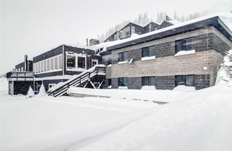 Exterior view of Snowpine Lodge.