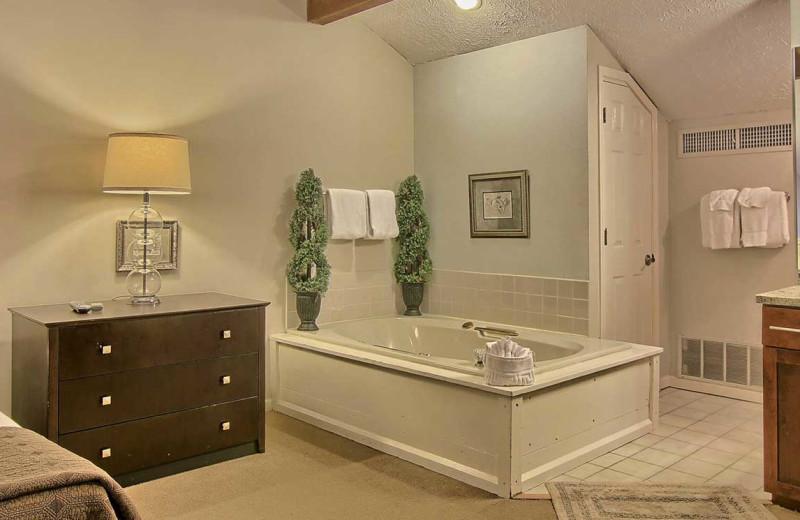 Guest suite at Northern Quarters Management.