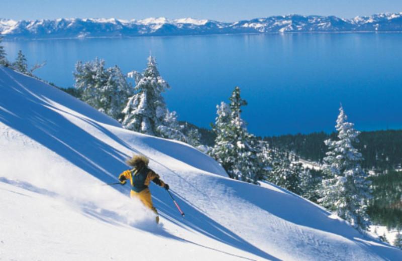 Downhill Skiing at Hyatt Regency