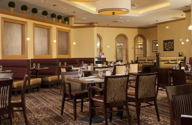Dining at Lancaster DoubleTree Resort by Hilton.