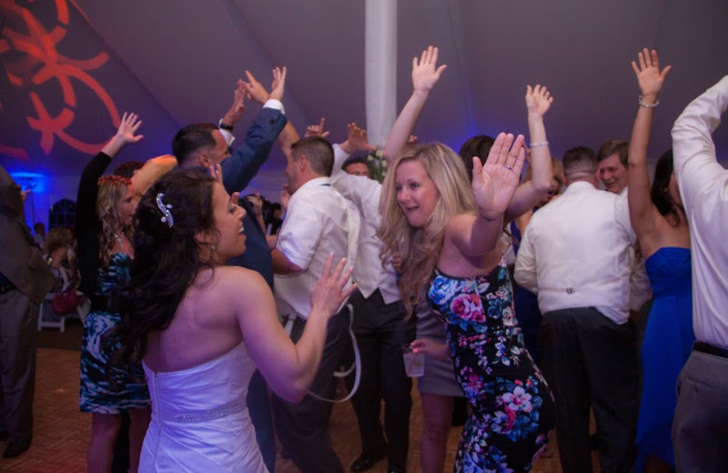 Have a good time with your friends & loved ones! Dance the night away at your wedding's reception in our newly renovated wedding tent!