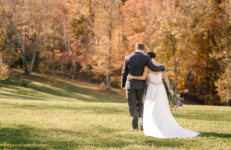 The peace and seclusion of a Montfair Resort Farm wedding gives magic to your special day