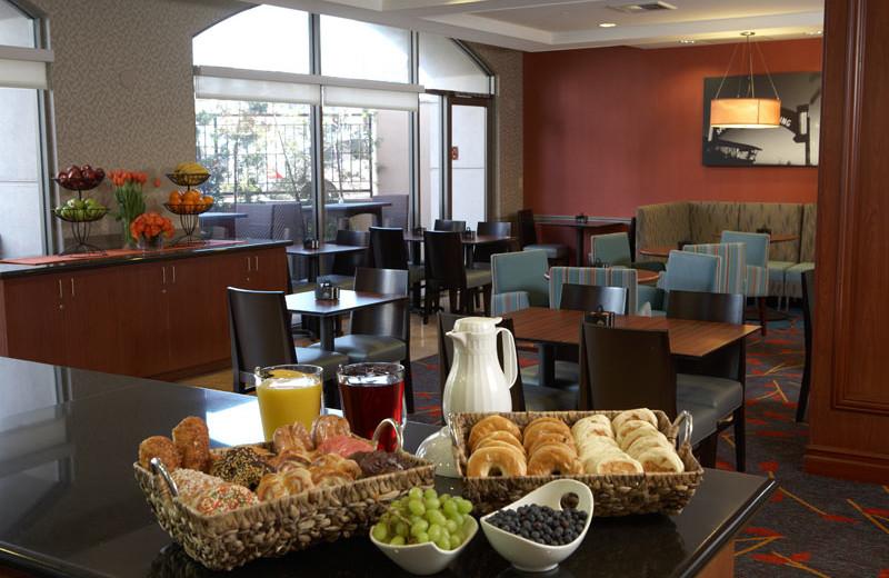 Breakfast at Renaissance Beverly HIlls Hotel.