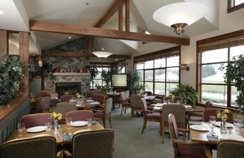 Dining Area at Semiahmoo Resort