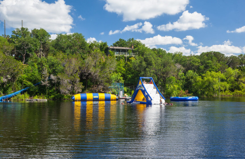 Water activities at The Retreat at Balcones Springs.