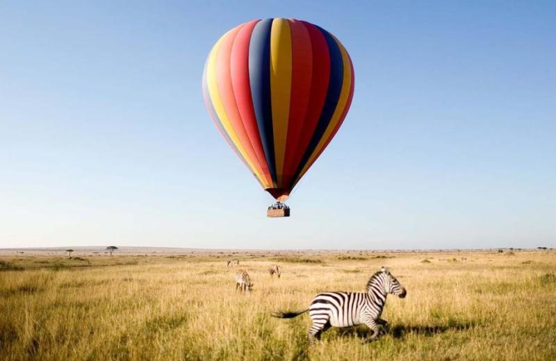 Balloon room at Grumeti Serengeti Tented Camp.