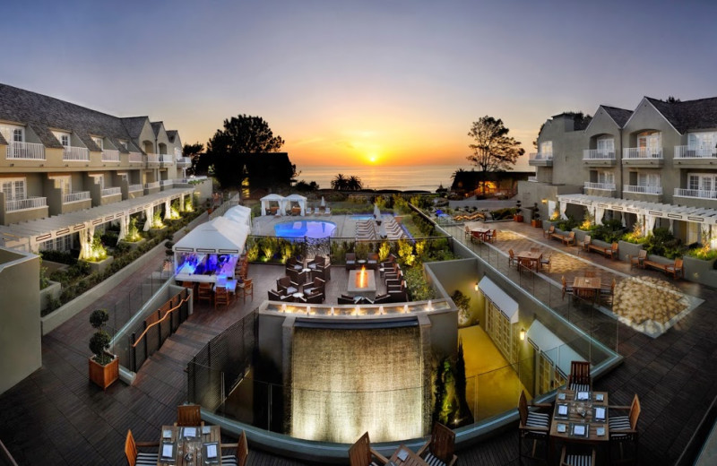 Exterior view of L'Auberge Del Mar Resort & Spa.