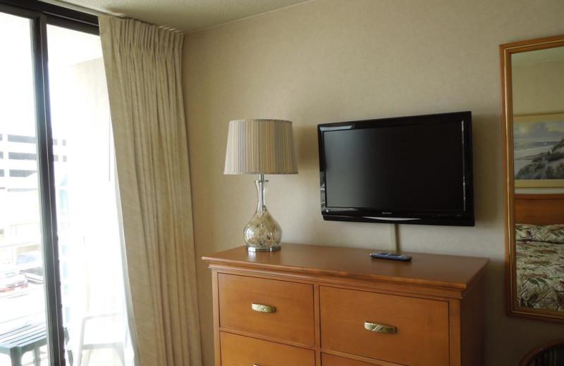 Guest dresser at Four Sails Resort.
