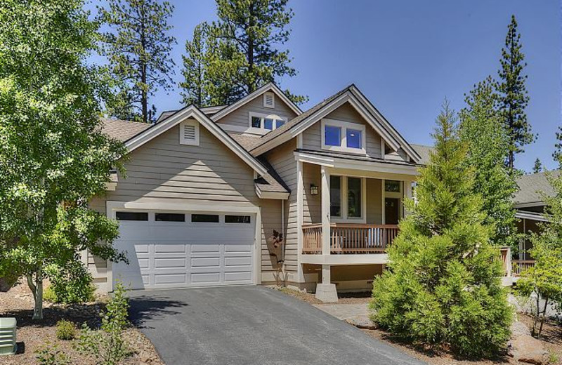 Vacation Rental Exterior at Tahoe Signature Properties